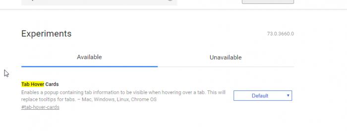 谷歌在Chrome 73中测试标签悬停卡的照片 - 4