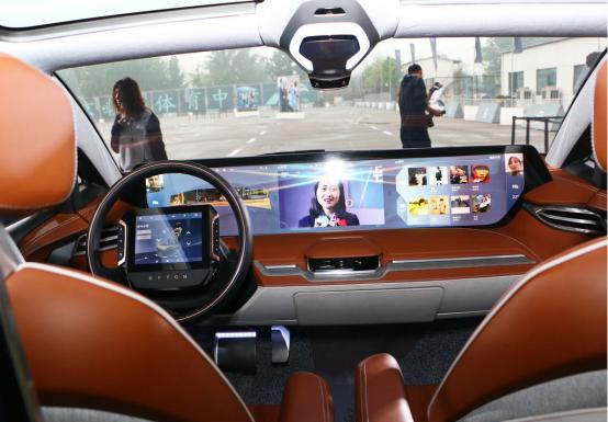 拜腾BYTON M-Byte实车将在2019年中首发 年底正式投产