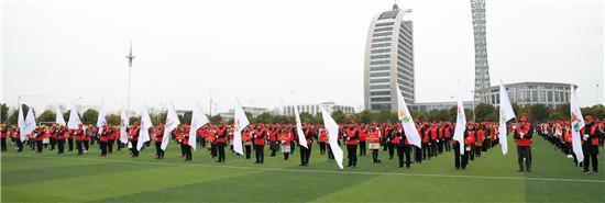 海安市新时代文明实践教育志愿服务队正式成立并宣誓出征