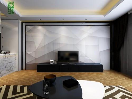 新房装修前必看 极简象邦电视背景墙装修效果