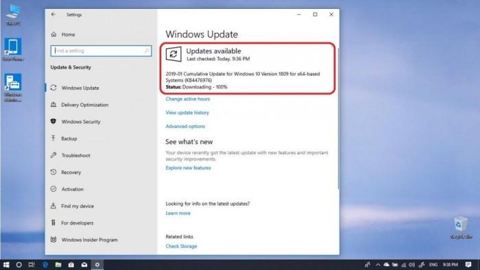 微软邀请Release Preview通道用户测试累积更新KB4476976的照片