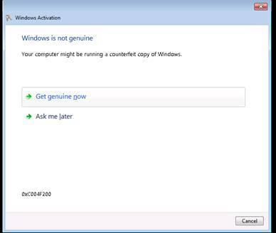 """微软承认Win7升级更新汇总后显示""""非正版""""错误的照片 - 2"""