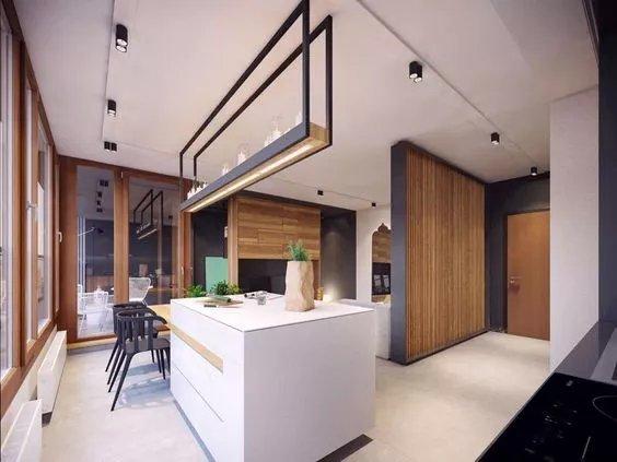 厨房吧台怎么装修,厨房吧台设计效果图,厨房用小吧台