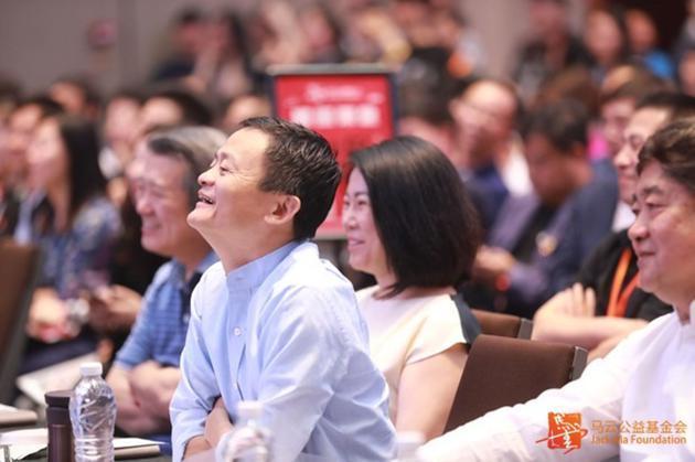 马云乡村教师奖在三亚举办 多数教师第一次看到大海的照片 - 3