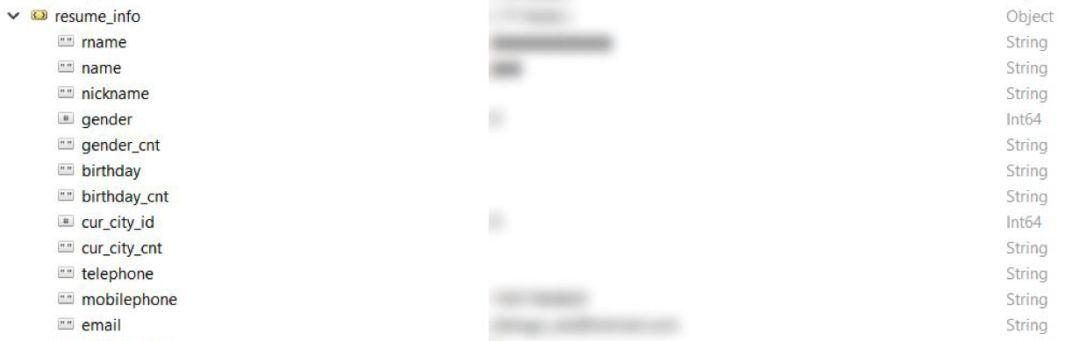 MongoDB裸奔 2亿国人求职简历泄漏的照片 - 2