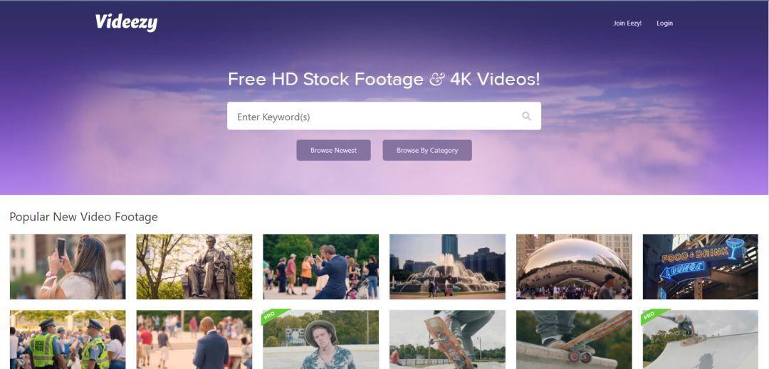 高质量视频 Videezy