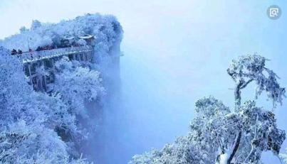 过来人告诉你张家界天门山雪景什么时候去最好看?