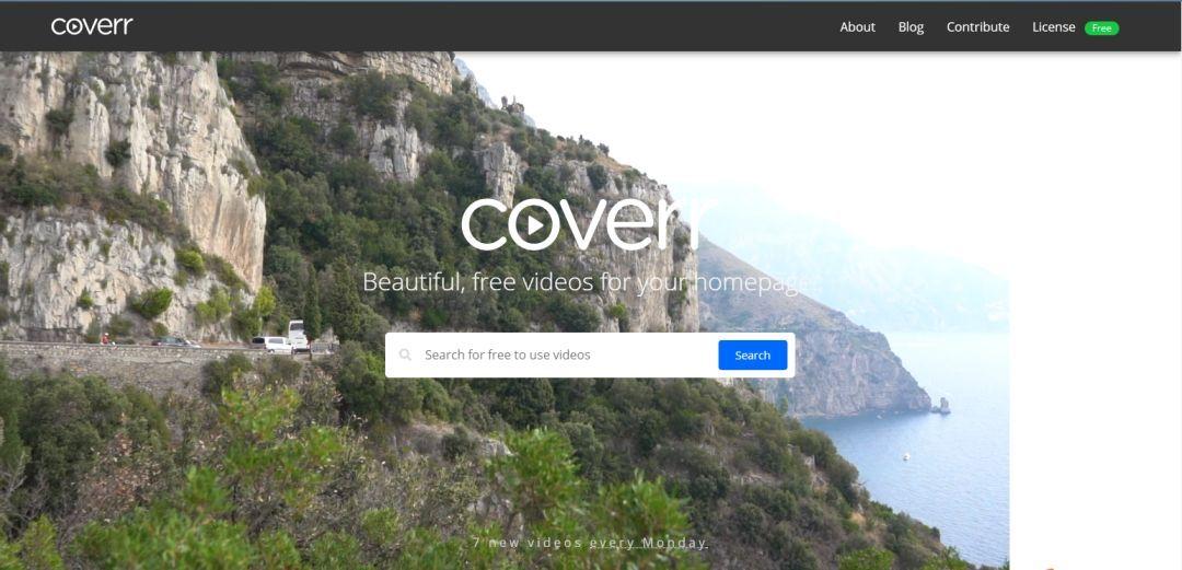 高质量免费视频 – Coverr