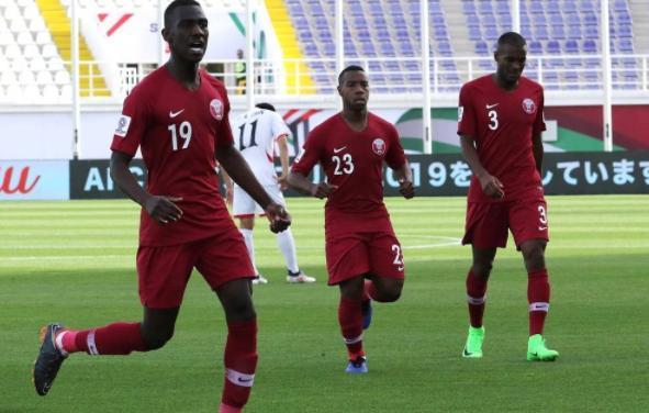 卡塔尔队以6-0横扫击败了朝鲜队