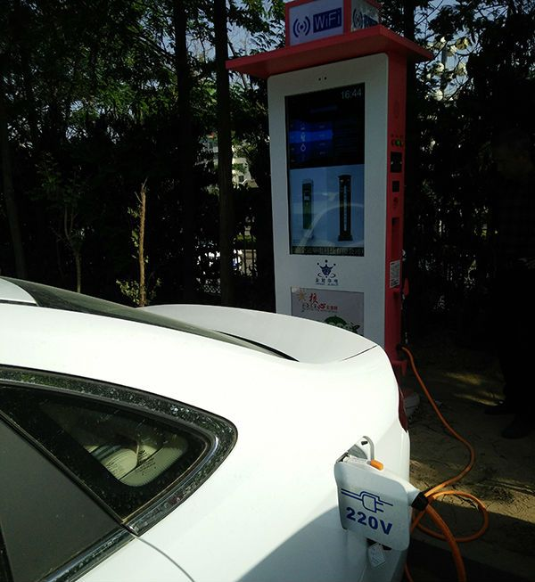 迅豹广告机充电桩