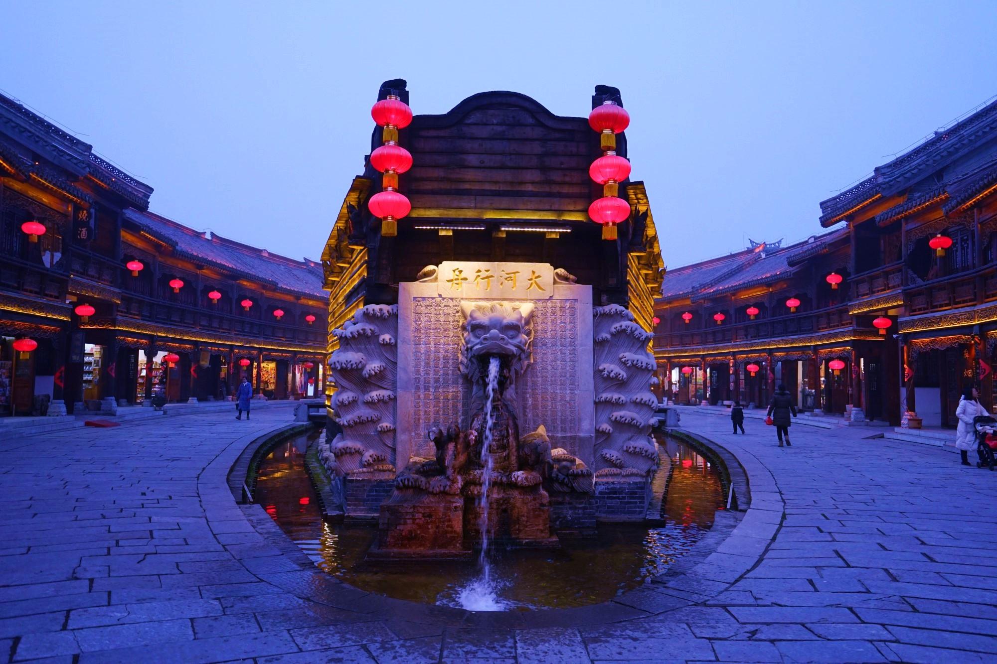 台儿庄庙会今年与往年就是不一样,不信你来看