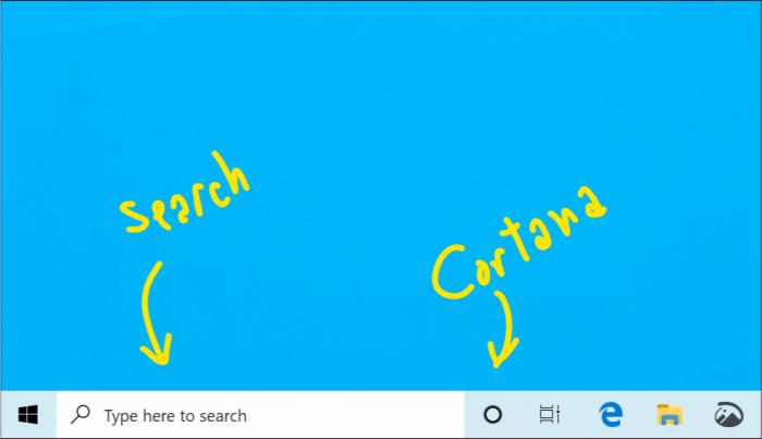 Win10 19H1将分离搜索和Cortana语音助手功能