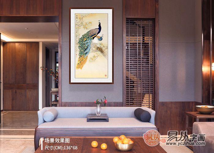 玄关挂什么画好 想要风水好这五类花鸟画题材不能少