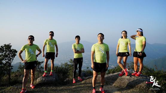 巅峰对决!探路者飞越队出征2019香港百公里