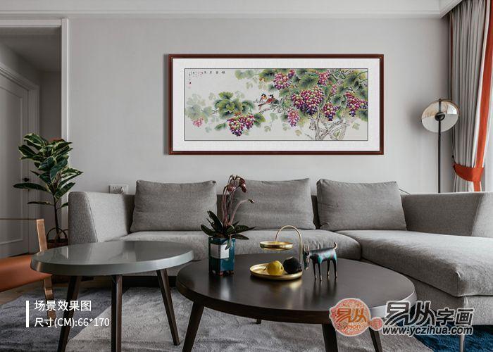 客厅挂什么画好 客厅沙发墙挂画有什么讲究