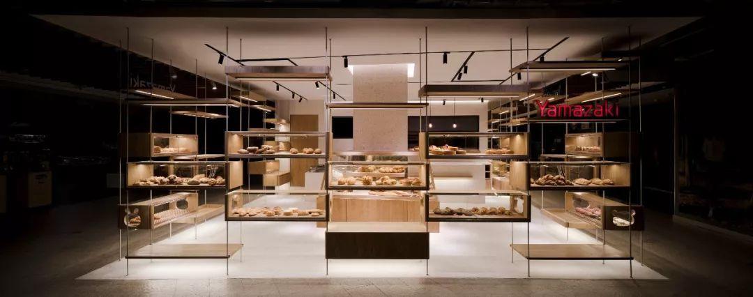 上海山崎面包房设计案例
