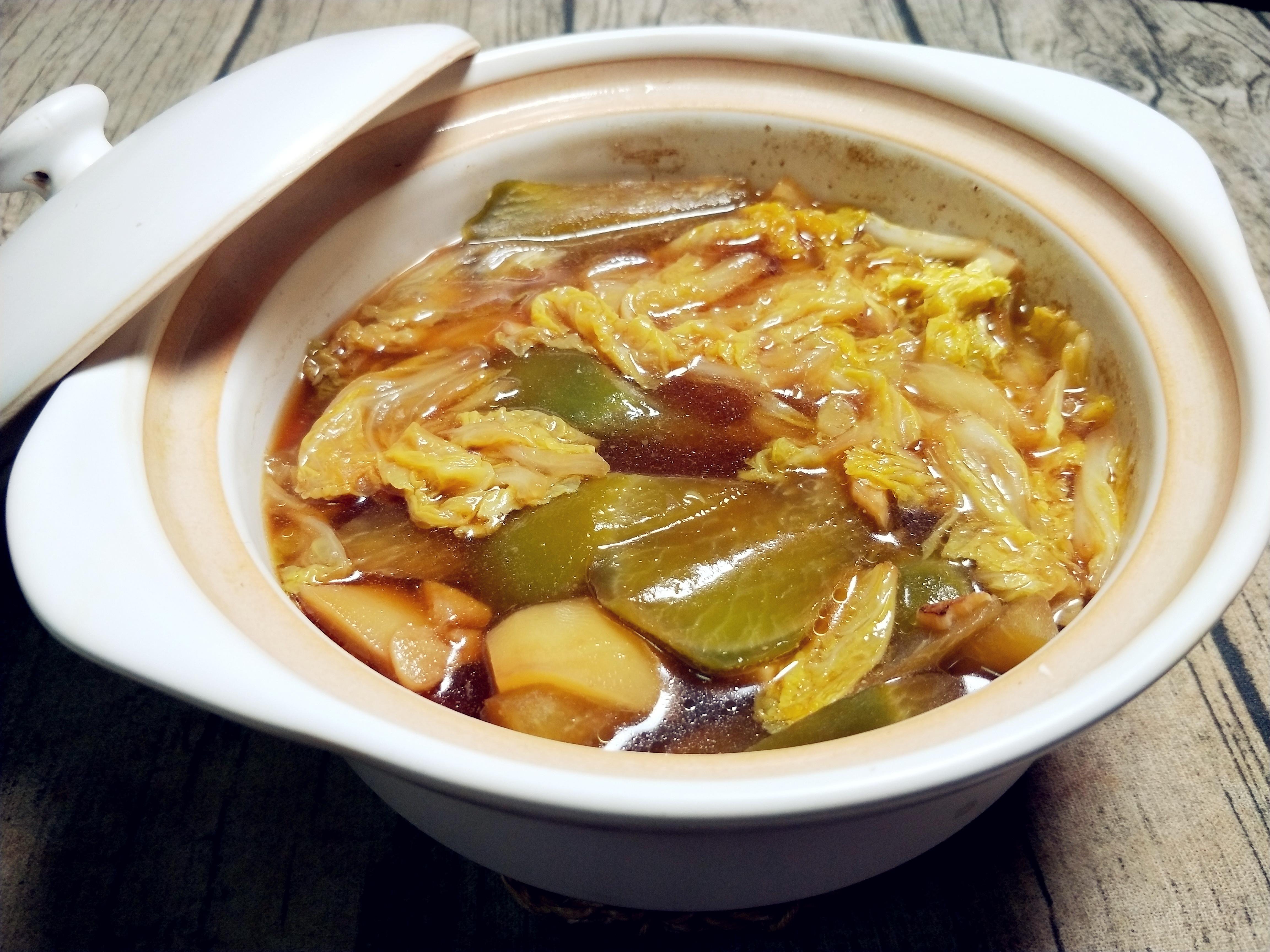 原創白菜和它是絕配!10分鐘燒一鍋,營養翻倍香濃美味,連湯汁都不剩!
