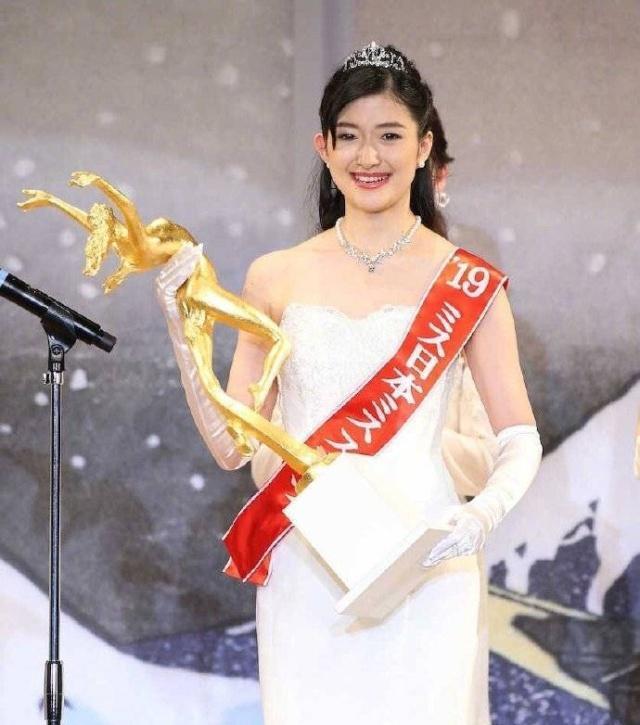 2019日本小姐冠军出炉 网友:越看越像吴京的照片 - 2