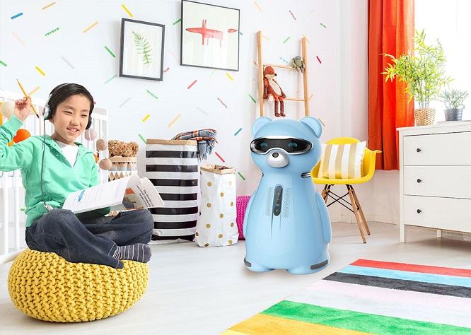 吉特熊空净机器人:这个寒假与你一起培养健康学霸
