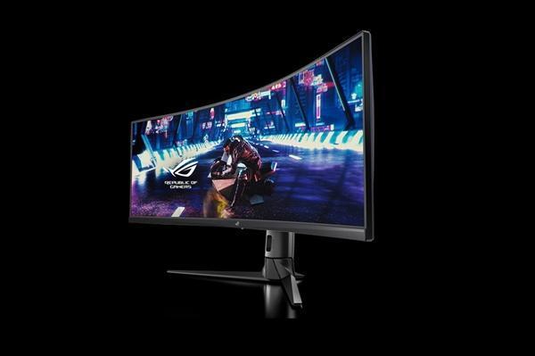 华硕发布49寸带鱼屏显示器XG49VQ:144Hz刷新率的照片 - 5