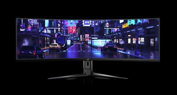 华硕发布49寸带鱼屏显示器XG49VQ:144Hz刷新率的照片 - 9