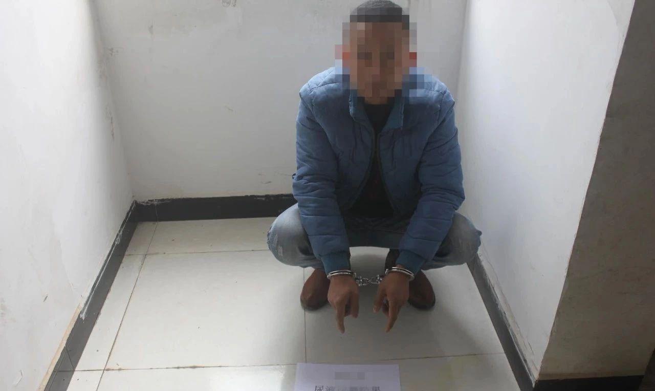 泸州古蔺警方近期抓获多名吸毒人员