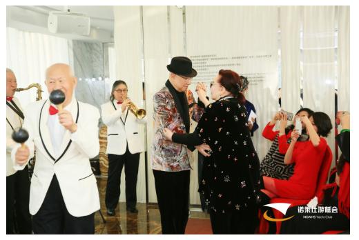 外滩名媛会—外国驻沪总领事夫人团 新年团聚NYC诺莱仕游艇会