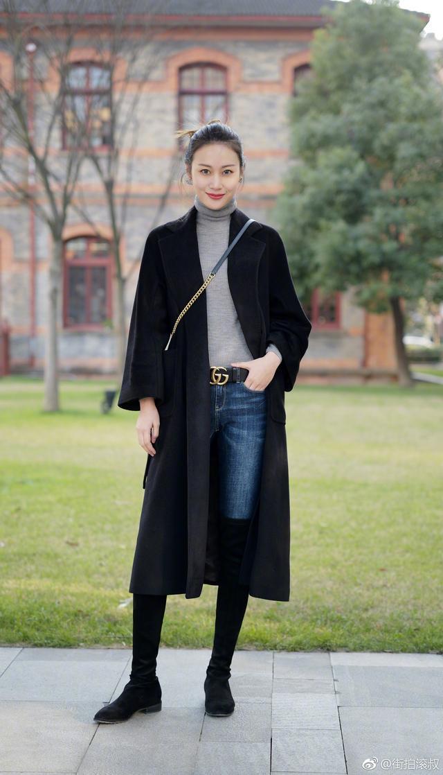 再冷也要好好打扮自己!看看街頭的她們如何hold時尚造型? 形象穿搭 第2張