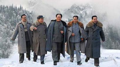 一部令中国人民无比振奋的电视大剧《解放》!