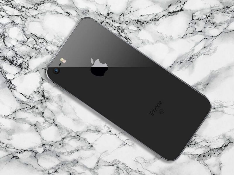 iPhone SE 2 概念设计欣赏:方方正正、无线充电的照片 - 2