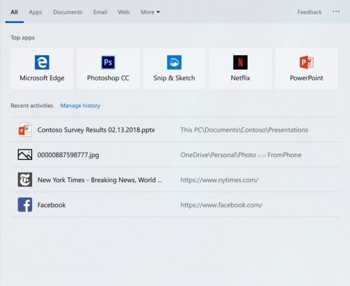 Win10 19H1带来了搜索方面的改进 简化了应用和功能页面的照片 - 2
