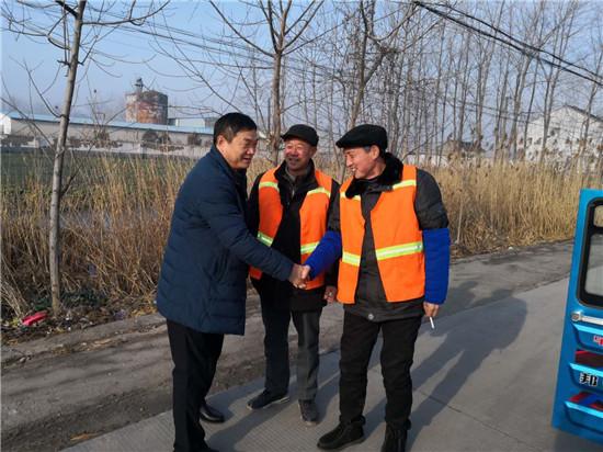 响水公路:新春慰问一线养护职工