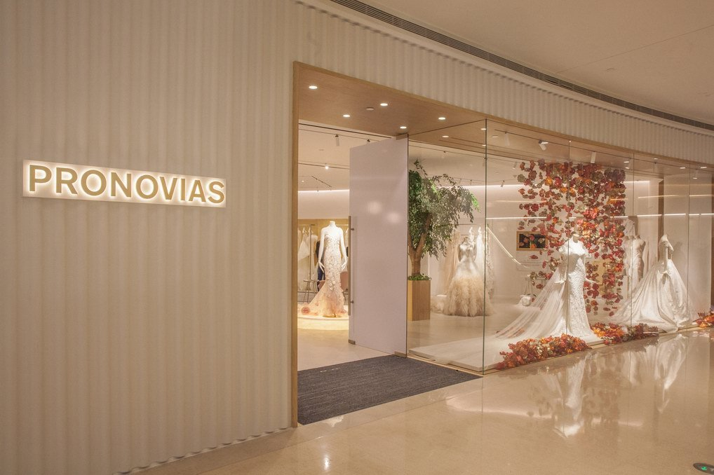 Pronovias亚洲首家旗舰店沪上开业