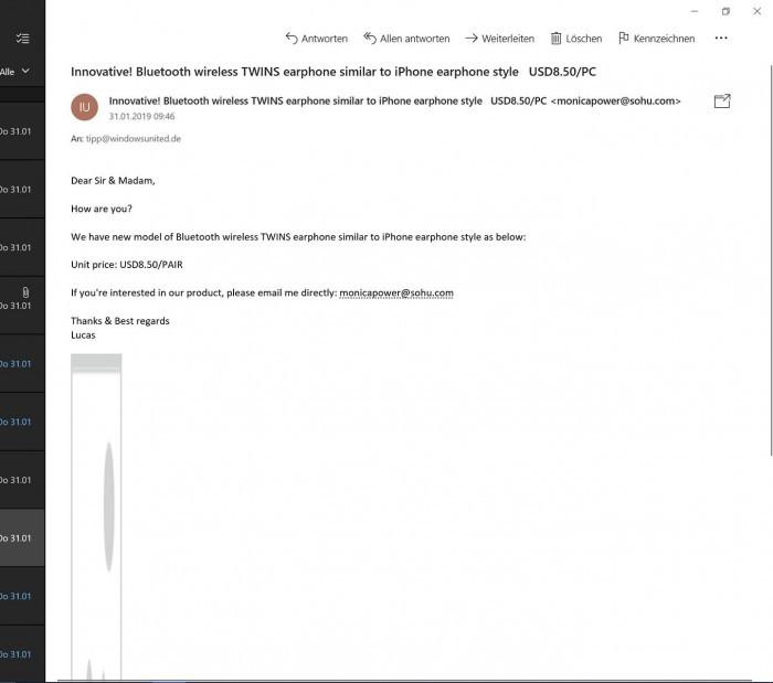 Win10 Mail 应用的黑暗模式已经进入最后测试阶段的照片 - 3