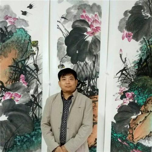 艺美视界艺术家推荐:张学刚--大写意花鸟画赏析