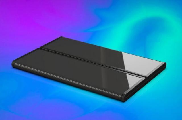小米双折叠手机高清渲染图曝光:手机平板二合一的照片 - 3