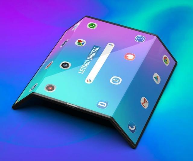 小米双折叠手机高清渲染图曝光:手机平板二合一的照片 - 6