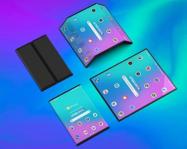 小米双折叠手机高清渲染图曝光:手机平板二合一的照片 - 4