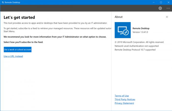 微软新版远程桌面预览应用程序泄露的照片 - 2
