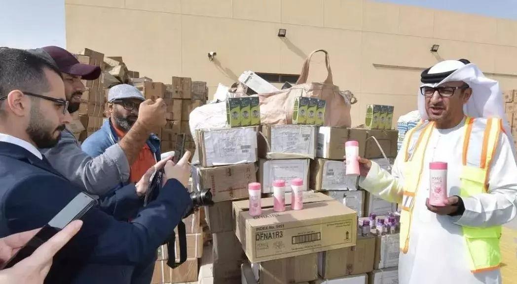 2018年迪拜共没收近1990万件假冒商品