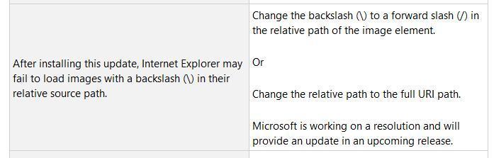 "Win10 Build 17763.316新BUG:IE不加载""\""路径图像的照片 - 2"