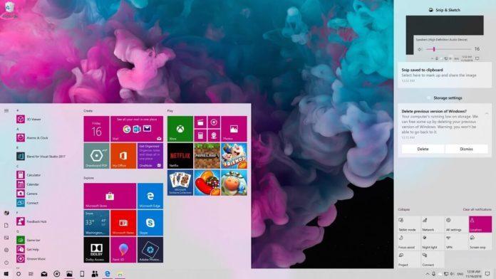 19H1功能更新即将发布 微软如何布局Win10后续发展?的照片 - 2