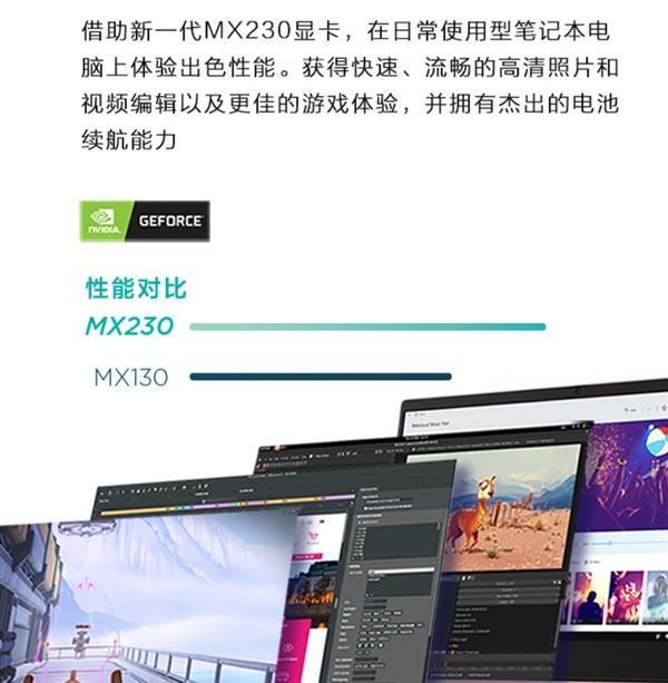 联想全新小新14笔记本上架:首次搭载NVIDIA MX230显卡的照片 - 3