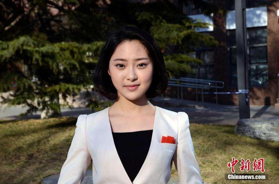 中国传媒大学校花厉蔺菲个人资料及照片,最佳素颜美女