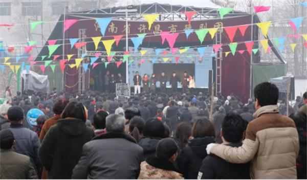 河北省巨鹿县王虎寨村举办多场活动庆祝元宵佳节― 盛世中国年,打醮闹新春