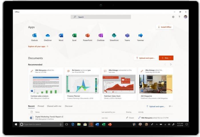 全新Office应用正式上线 微软已面向所有PC用户推广的照片 - 2