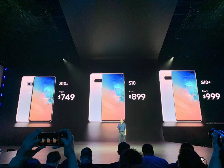 三星发布Galaxy S10系列及折叠屏Galaxy Fold的照片 - 2