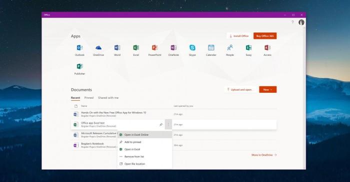 微软新推出的Win10 Office应用上手体验的照片 - 6