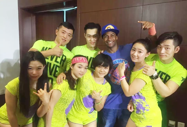 567GO健身教练培训优秀学员付瑞祥在校学习