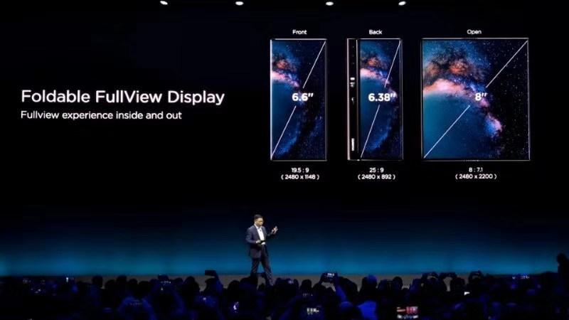 开启手机新时代:华为首款5G折叠屏手机HUAWEI Mate X亮相